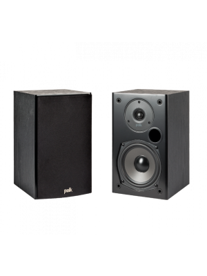 Polk Audio T15 Black (Ζεύγος)