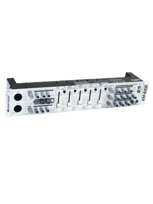 Omnitronic EM-650 Zone Mixer 5Ch/2Mic/10In/ 3Out Silver