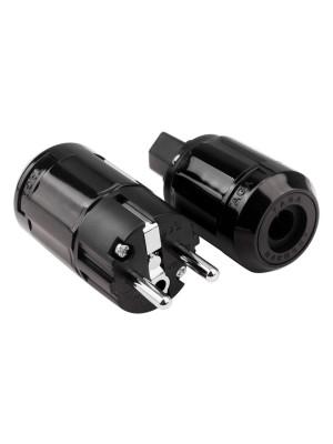Taga Harmony ETPC-SP / ETPC-C Schuko plug and IEC connector - set
