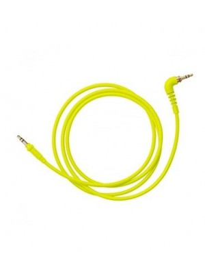 AIAIAI C11 Straight Woven Cable  - 1,2M  - YELLOW NEON
