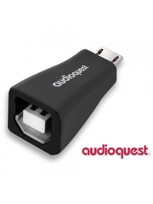 Audioquest USB B (F) to USB micro (m)2.0 adaptor (USBMICROAD)