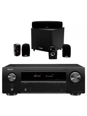 Denon AVR-X550BT + Polk Audio TL-1600