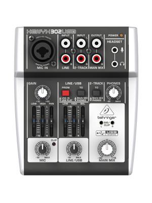 Behringer XENYX 302 USB - 1 mic 2 stereo