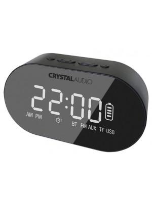 Crystal Audio BTC1K Bluetooth Speaker/Alarm Clock Black