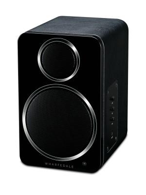Wharfedale DS-2 Ασύρματο Αυτοενισχυόμενο Ηχείο Bluetooth Black (Ζεύγος)