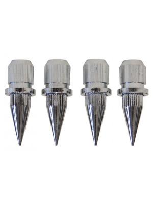 Dynavox sub-watt absorber ασημί ακίδες (4 Τεμάχια)
