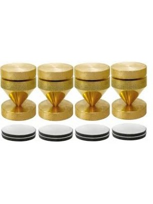 Dynavox Sub Watt Absorber 100818 Κώνοι Brass (set 4 τεμάχια)