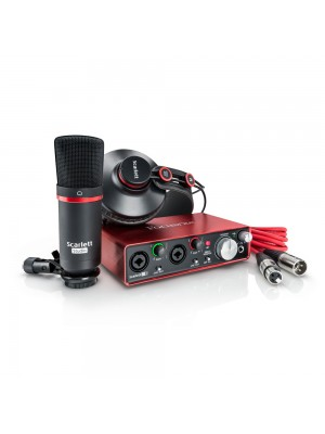 Focusrite Scarlett 2i2 Studio 2nd Gen set