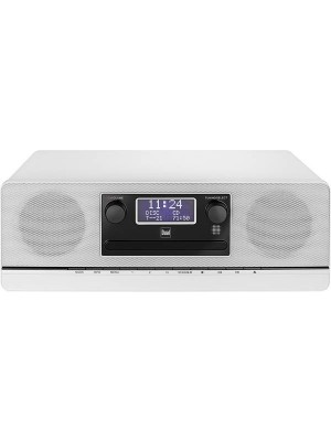 Dual DAB 420 BT Radio CD - White
