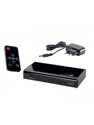 Inakustik 0042450413 Premium 4K HDMI Switch High Speed (4 σε 1)