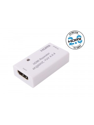 Inakustik 00912004 Profi HDMI 2.0 Repeater 18Gbps