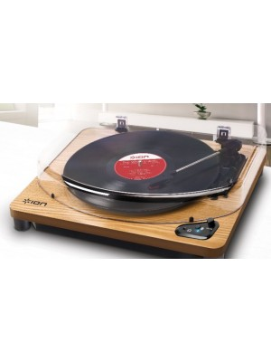 ION Air LP BT USB Wood - Belt Drive - Με προενισχυτή