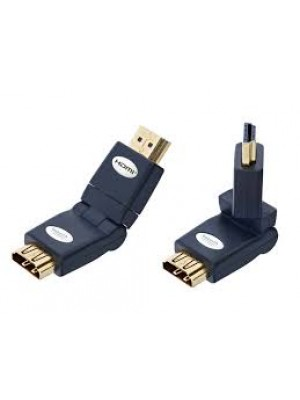 Inakustik 0045217 Premium HDMI female-male Angle Adapter 360°