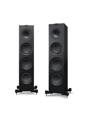 KEF Q750 Black (Ζεύγος)