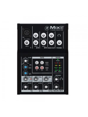 Mackie Mix5 - 1 mic 2 stereo