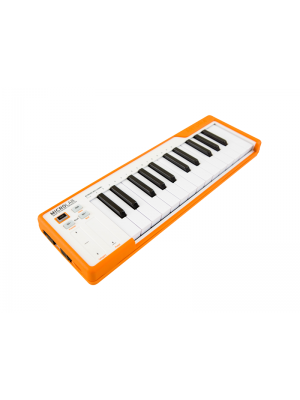 Arturia MicroLab Orange USB MIDI keyboard