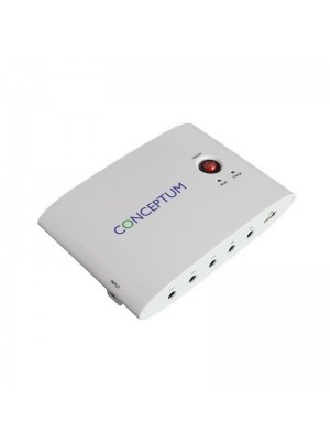 Conceptum CMU004 MRCable Mini UPS 24WATT - ΛΕΥΚΟ -  5V/9V/12V/15V/24V