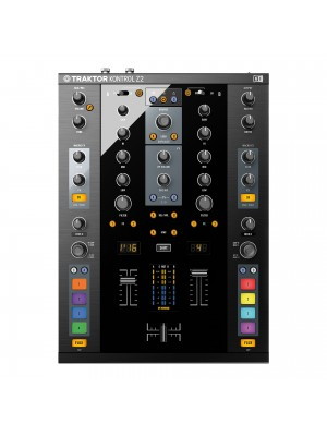 Native Instruments Traktor Kontrol Z2 -2ch - USB soundcard 24-bit