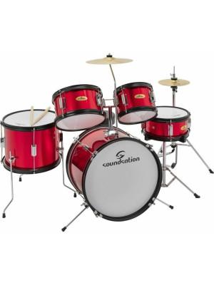 SoundSation JDK100 Metallic Red Junior Σετ Drums