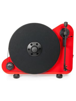 Pro-Ject VT-E R BT - Bluetooth Red / OM5E - Belt Drive