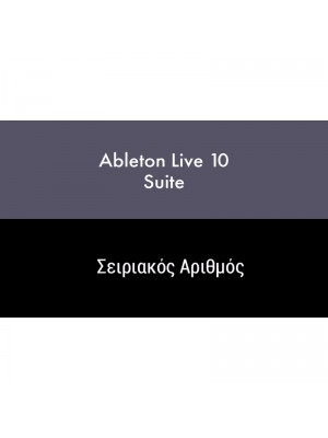 Ableton Live 10 Suite (Serial Only)