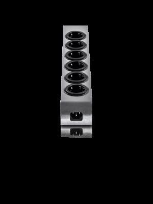 Oehlbach 17010 PowerSocket 505 Πολύμριζο με 2 υποδοχές φόρτισης USB