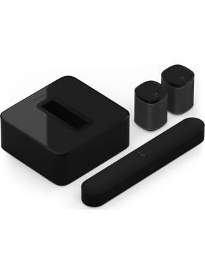 SONOS 5.1 Surround Set with Sonos Beam, Sub, and One SL Black