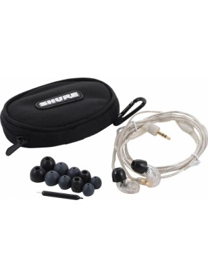 Shure SE215 CL -Professional Sound Isolating In-ear (Διάφανο)