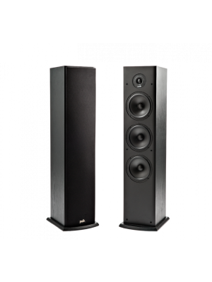 Polk Audio T50 Black (Ζεύγος)