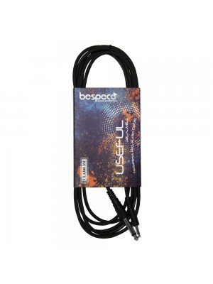 Bespeco ULA150 Adaptor ΚΑΛΩΔΙΟ 6,3mm JACK/3,5mm JACK 1,5m