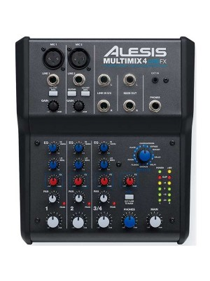 Alesis MultiMix 4 USB FX - 2 mic 1 stereo