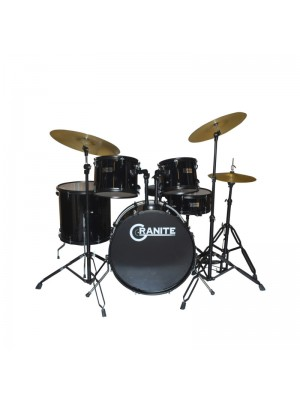 Granite Studio Beat Black Drumset