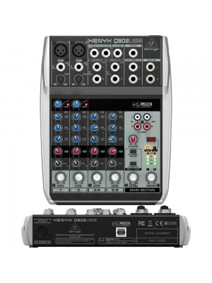 Behringer XENYX Q802 USB - 2 mic 3 stereo
