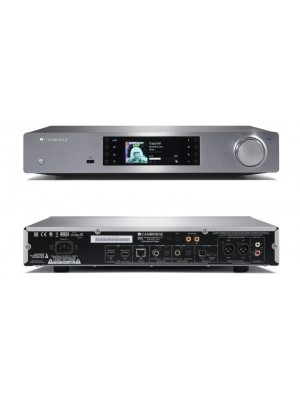 Cambridge Audio CXN Network Player με ενσωματωμένο DAC silver