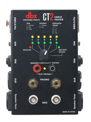 DBX CT-2 Tester Καλωδίων
