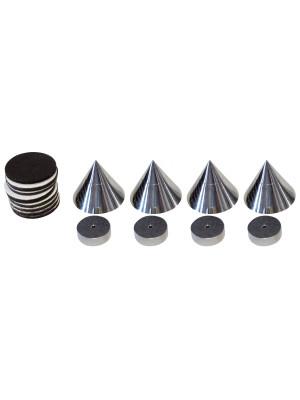 Dynavox Sub Watt Absorber 4 pcs Silver