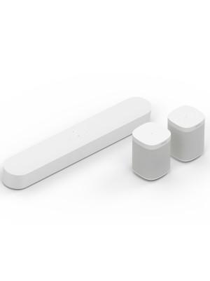 SONOS 5.0 Surround Set with Sonos Beam & One SL White