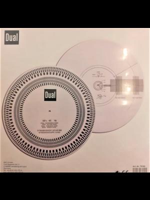 Dual Stroboscope+ Protractor Disc