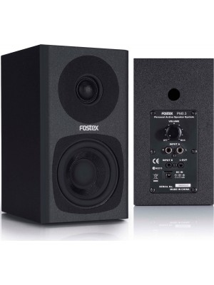 Fostex PM0.3 Black - 3inch (Ζεύγος)