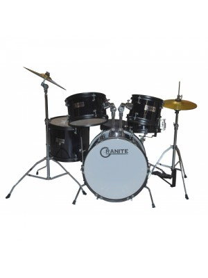 Granite Rock Black Drum set Junior Kit σε 6 άτοκες δόσεις