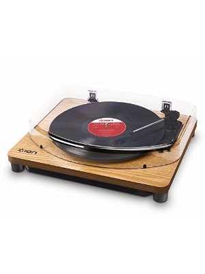 ION Classic LP USB Wood - Belt Drive - Με προενισχυτή