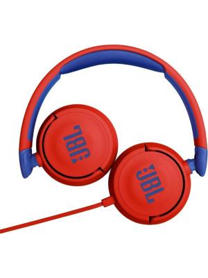 JBL JR310 Red On-Ear Headphones for Kids, Universal, Safe Listening