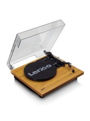 Lenco LS-10 Wood - Built-in speakers - Belt Drive - Με προενισχυτή