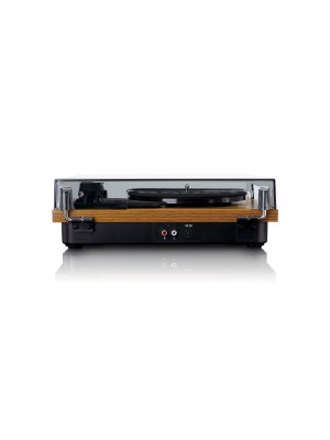 Lenco LS-10 -  with built-in speakers - Wood