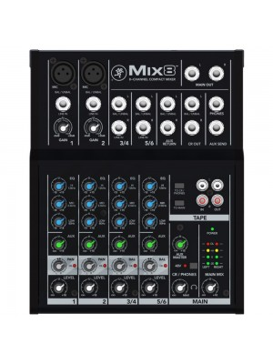 Mackie Mix8 - 2 mic 2 stereo