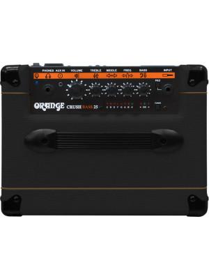 Orange Crush Bass 25 Ενισχυτής Ηλεκτρικού Μπάσου Μαύρος