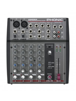 Phonic AM-220  -  2 mic 3 stereo