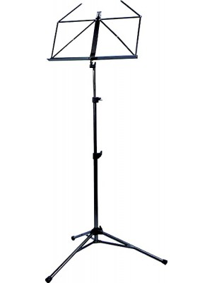 Prodipe De Luxe Folding Music Stand Black Metal