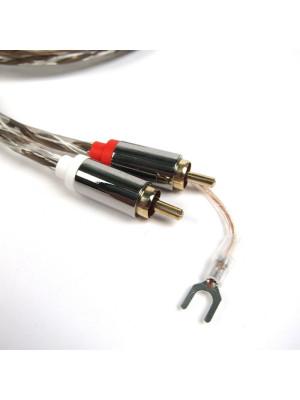 Pro-ject Connect it RCA-E 1.23m - RCA to BULK (ατερμάτιστο από τη μια μεριά)