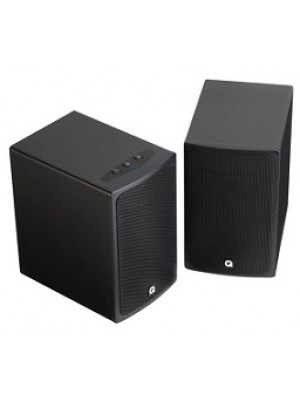 Q Acoustics BT3 Bluetooth stereo speakers Black Gloss (Ζεύγος)